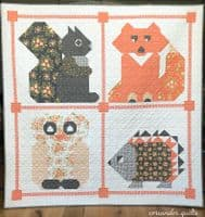 Woodland Frolic Quilt Pattern By Coriander Quilts For Moda
